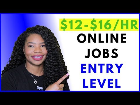 Work-From-Home Entry Level. Paid Training. Full Time | Online, Remote Work-At-Home Jobs October 2019