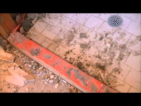 Wrong Way To Tile Shower !