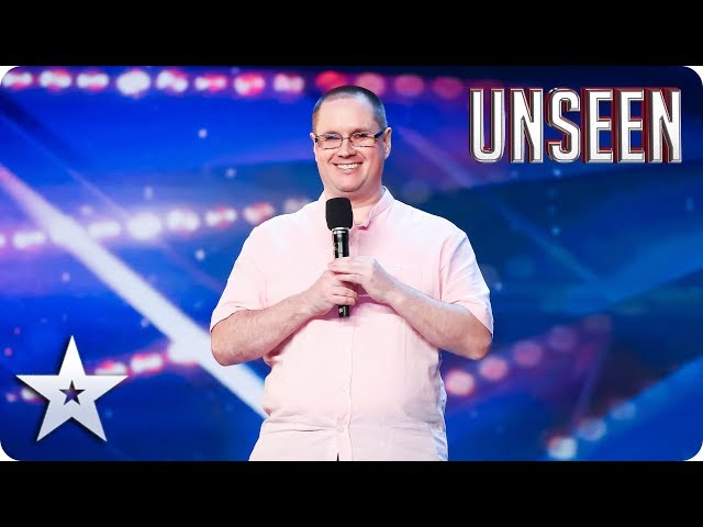 Have a CHUCKLE with INSPIRING blind comic CUBBY! | BGT: UNSEEN