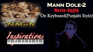 hindi nagin been music mann dole-2 (Punjabi style)on keyboard