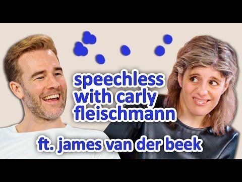 JAMES VAN DER BEEK | Speechless w/ Carly Fleischmann Ep 2