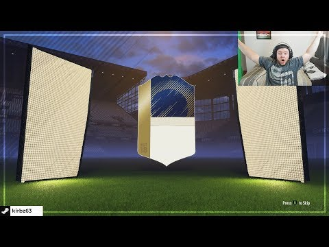 WE PACKED AN ICON!!! FUT CHAMPIONS ELITE 1 REWARDS | FIFA 18 PACK OPENING!!