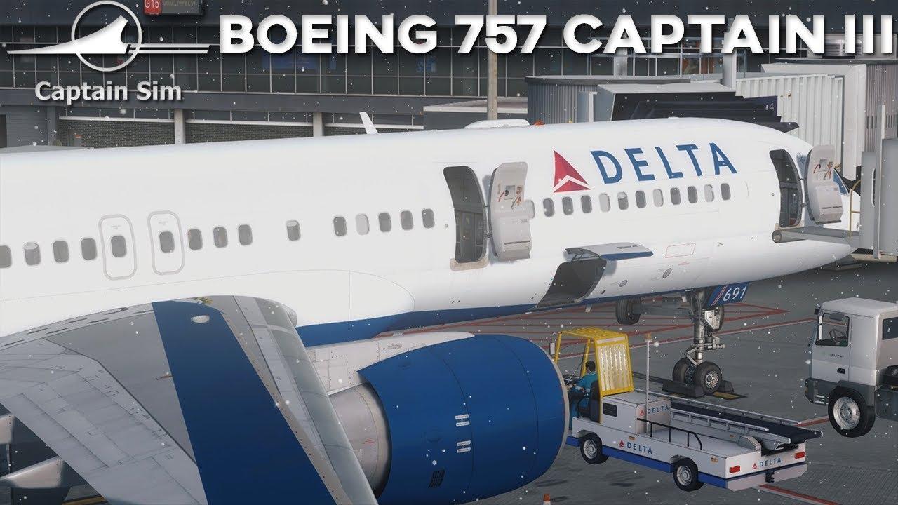 [P3Dv4] CaptainSim Boeing 757-200 iii