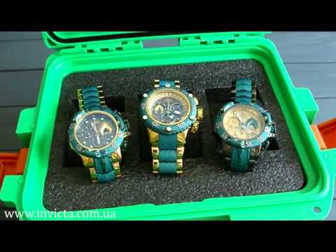 Обзор часов Invicta Aquaman 26782 26784 26785 DC Aquaman Limited Edition