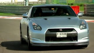 Is A Nissan GTR Faster With Or Without Computer Assistance Fifth Gear смотреть