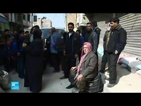 إجلاء مدنيين من مناطق سيطرة جيش الإسلام في الغوطة الشرقية