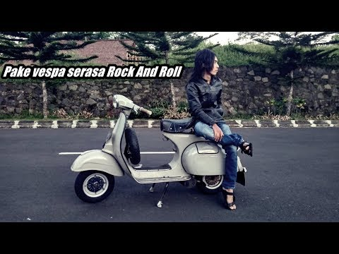 Riview Dan Test Ride Vespa Super 1978 Modif Vespa Kongo #motovlog66