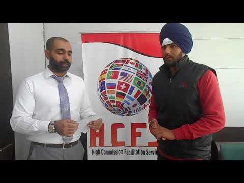 HCFS Immigration Chandigarh | Harpreet Singh | Cyprus Student Visa | Best Immigration Consultant