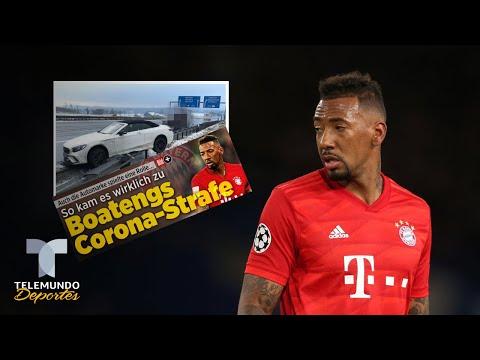 Boateng pasa por alto la cuarentena y sufre aparatoso accidente | Telemundo Deportes