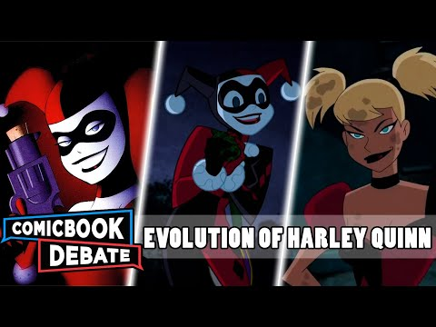 Evolution of Harley Quinn in Cartoons in 7 Minutes (2017) streaming vf