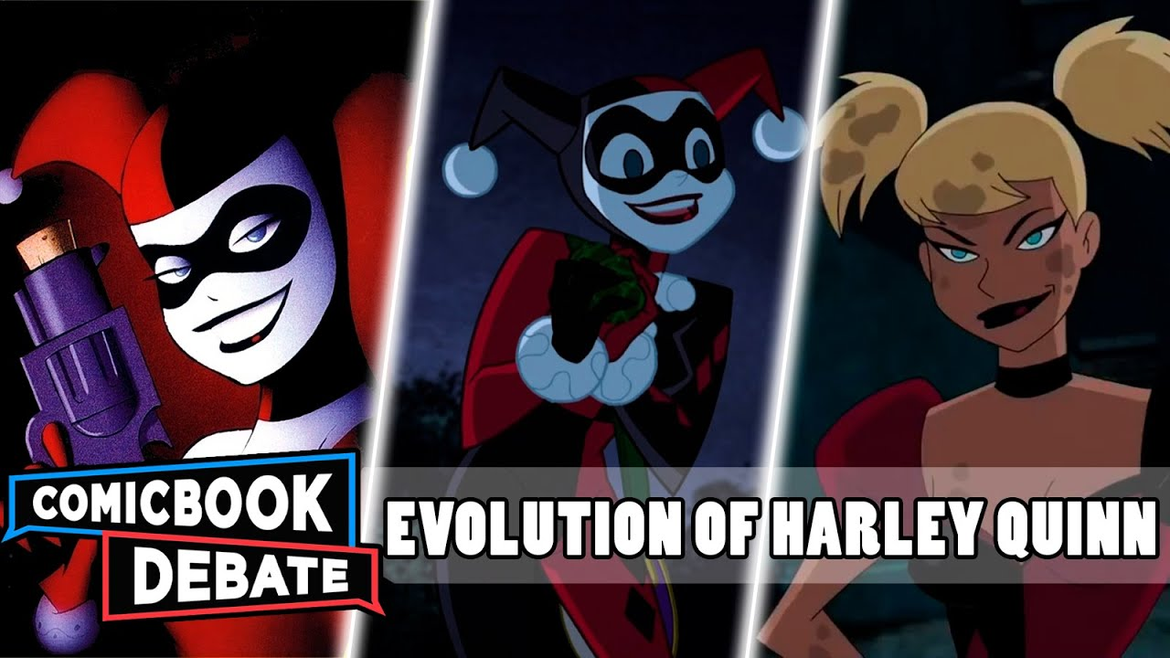 c360967de535 Evolution of Harley Quinn in Cartoons in 7 Minutes (2017) - YouTube
