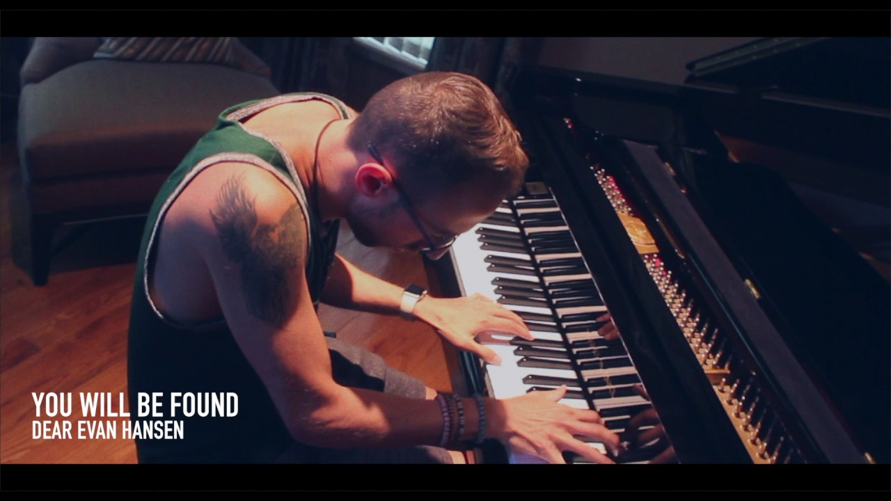 Dear Evan Hansen You Will Be Found Piano Cover Chords Chordify C fm everything will be okay. dear evan hansen you will be found
