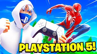 Mein 1. MAL Fortnite auf PLAYSTATION 5! 😨😱 (zu krass)