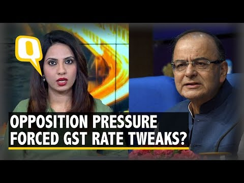 Did Opposition Pressure Force Modi Govt To Tweak GST Rates? | The Quint