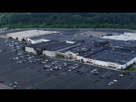 Aerial Huntington Mall Area Barboursville West Virginia Via Mavic 2 Zoom Drone