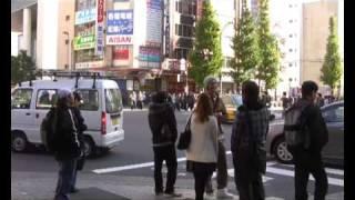 Roland Kelts & Kurt Andersen in Akihabara, TOKYO