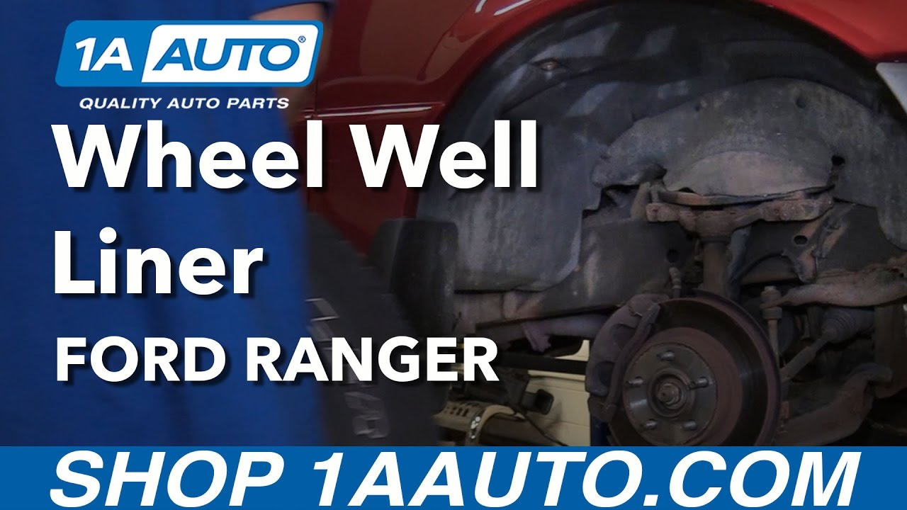 How To Remove Reinstall Front Inner Wheel Well Liner 2001 Ford 98 Bronco Alternator Wiring Ranger Buy Auto Parts From 1aautocom