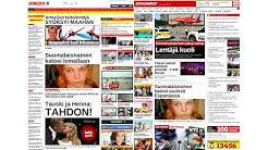 Iltalehti vs Iltasanomat - One month time lapse