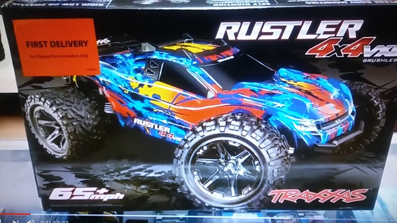 Traxxas Rustler 4x4 Vxl 1st Look And 2s 3s Run By Dickson Hobbies Related Keywords Suggestions Long