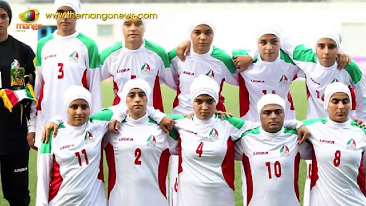 Eight Members Of Iranian Womens Football Team Are Men -9326