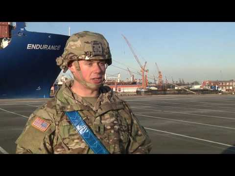 4th ID Conducts Seaport Operations in Germany
