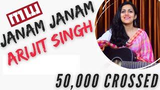 Janam Janam Guitar chords | complete | Arijit singh | Dilwale | Shahrukh khan