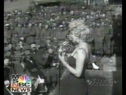 Marilyn Monroe - Singing DIAMONDS and DO IT AGAIN in Korea with sound!RARE