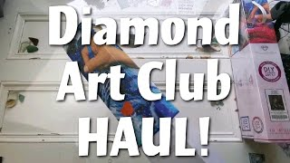 Diamond Art Club - UNBOXING 3 Stunning Canvases!