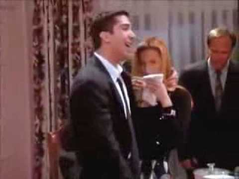 FRIENDS (S01/E08)  Ross is drunk