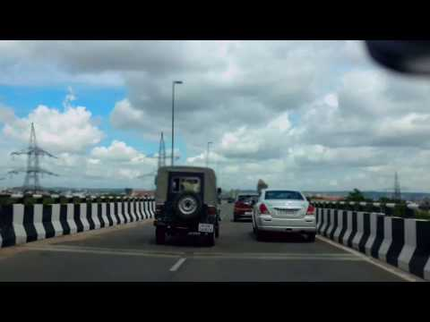 Drive on Elevated Ajmer Road Flyover Timelapse @ Jaipur, Rajasthan, India