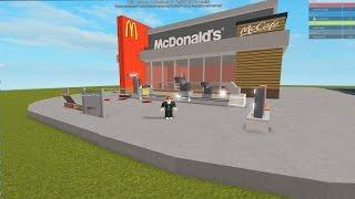 BUILD MY OWN MCDONALD'S! -ROBLOX MCDONALD'S TYCOON