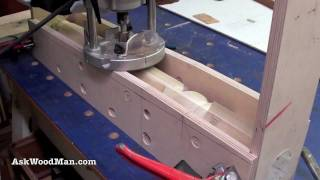 8 Of 23 • Wood Routers: How To Make A Jig To Route A Tapered Fluted Leg