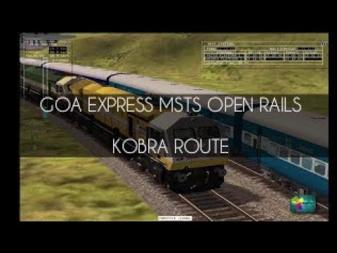 12779 Goa Express Vasco-da-Gama Pune Hazrat Nizamuddin Superfast Express MSTS Train Route