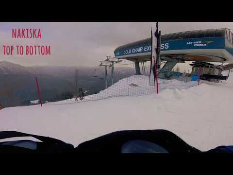Nakiska Ski Hill Top To Bottom