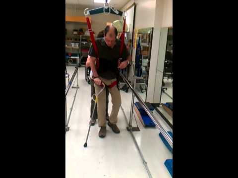 Post-stroke - Learning to Walk Again, The Rehab Centre, Ottawa
