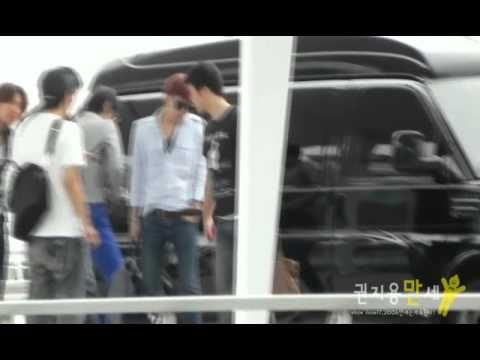 Download [Fancam #6] G-Dragon at Incheon Airport on 100908