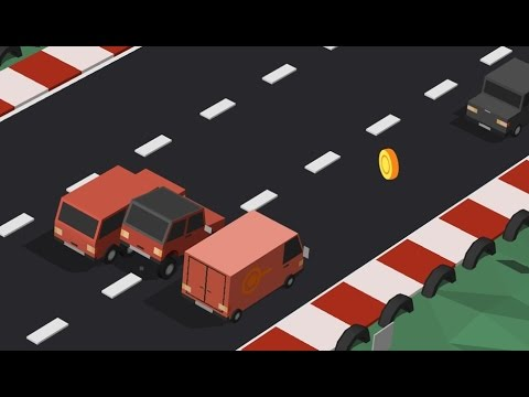 Blocky Cars: Traffic Rush - Android Gameplay HD