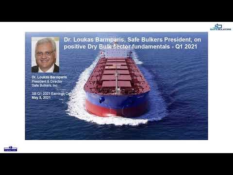 Dr. Loukas Barmparis, Safe Bulkers President, on positive dry bulk sector fundamentals - Q1 2021