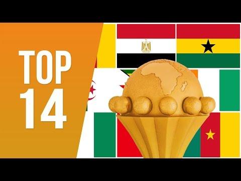 14 Pays Africains Ayant Remporté Au Moins Une Coupe d'Afrique Des Nations