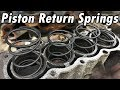 How to Replace Piston Return Springs  and Head Gasket