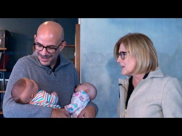 ¡Yo soy papá!: Ricardo Morán presenta a sus hijos Catalina y Emiliano   Punto Final