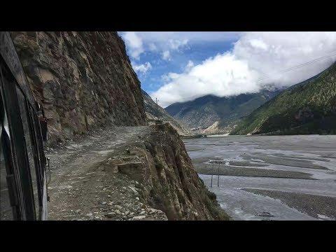 How is the road to Jomsom, Muktinath from Beni | View from Bus