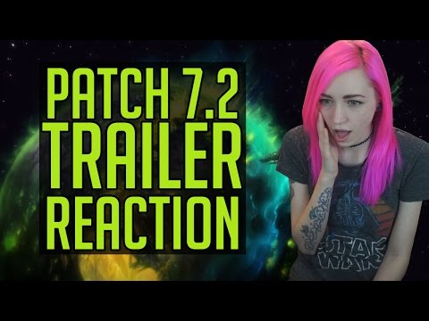 7.2 Trailer Reaction | Tomb of Sargeras | World of Warcraft