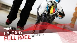 Calgary | BMW IBSF World Cup 2018/2019 - Women's Skeleton Heat 2 | IBSF Official