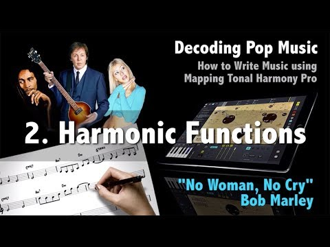 "Decoding Pop 102 - ""No Woman, No Cry"" How To Write Music Using Mapping Tonal Harmony Pro"