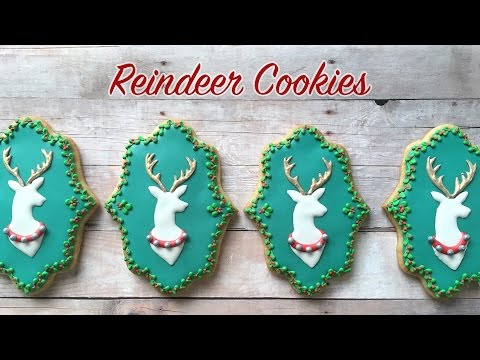 How To Decorate Reindeer Cookies!