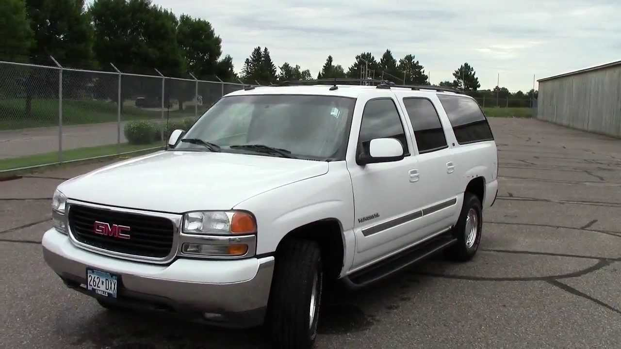 2003 gmc yukon xl 1500 4wd slt youtube. Black Bedroom Furniture Sets. Home Design Ideas