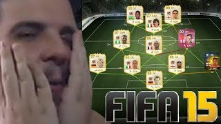 ENFRENTANDO UM TIME DE LEGENDS NO FIFA 15 ONLINE!
