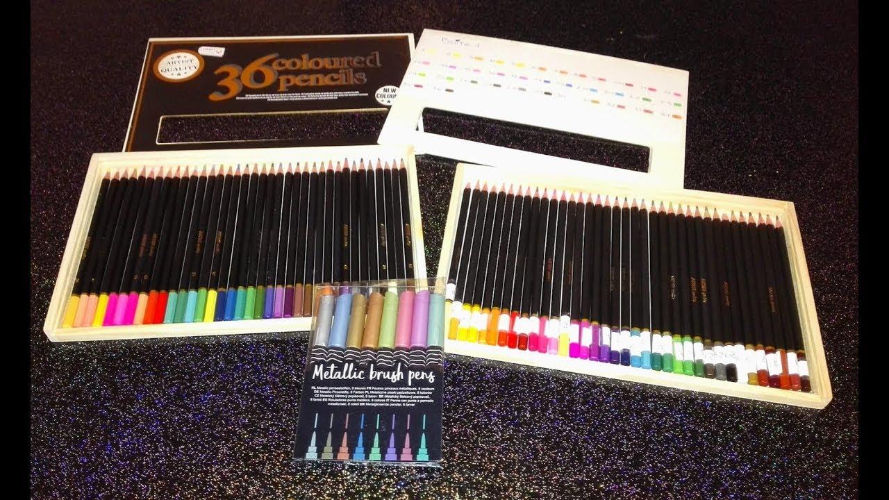 Coloriage Adulte Nouveaux Crayons De Couleurs Action Feutres