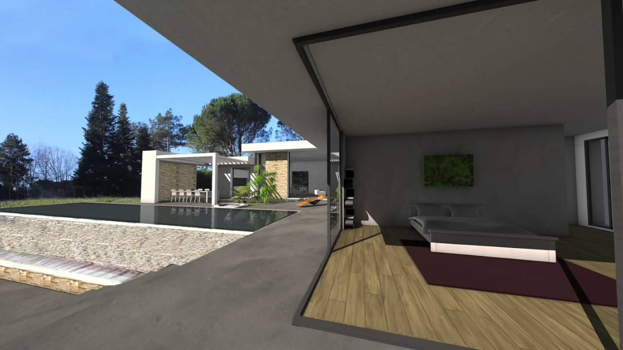 villa d 39 exception toit terrasse sur le golf de saint jean de luz youtube. Black Bedroom Furniture Sets. Home Design Ideas
